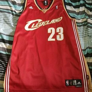 Throwback cleveland Cavaliers lebron james jersey!